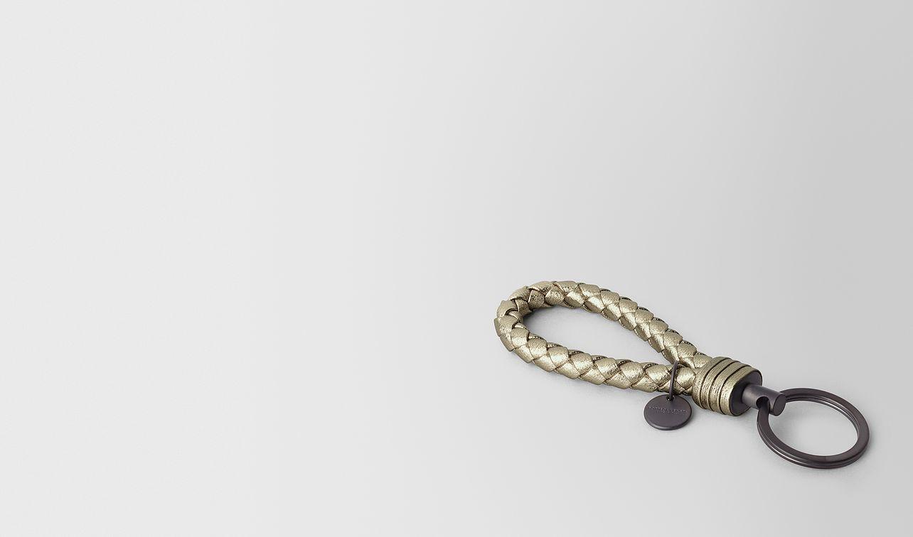 key ring in intrecciato grosgrain  landing