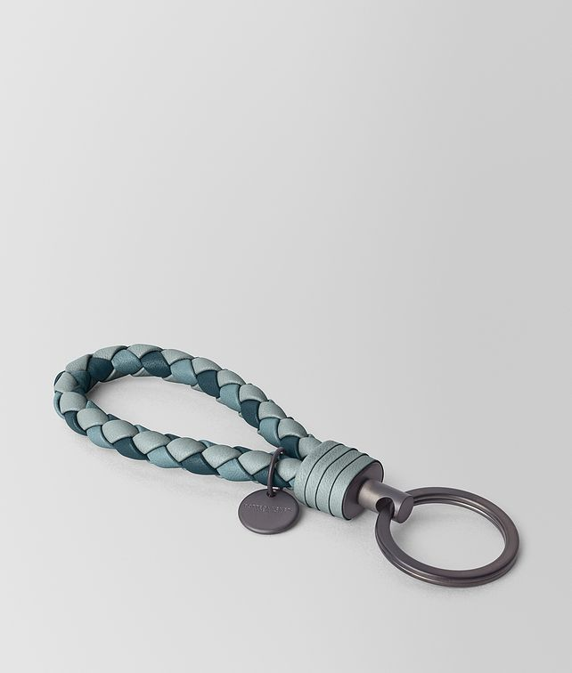 BOTTEGA VENETA KEY RING IN INTRECCIATO NAPPA CLUB Keyring or Bracelets E fp