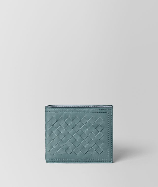 BOTTEGA VENETA BILLFOLD IN INTRECCIATO VN Small Wallet Man fp