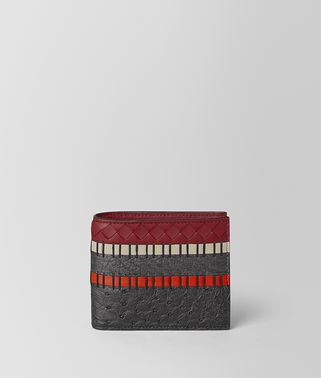 BILLFOLD IN NAPPA AND OSTRICH