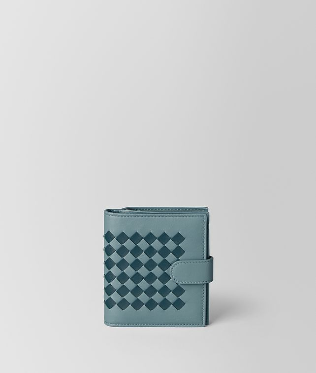 BOTTEGA VENETA MINI WALLET IN INTRECCIATO CHECKER Mini Wallet [*** pickupInStoreShipping_info ***] fp