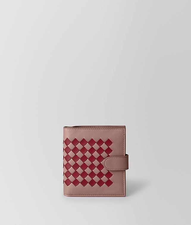 BOTTEGA VENETA MINI WALLET IN INTRECCIATO CHEQUER Mini Wallet [*** pickupInStoreShipping_info ***] fp