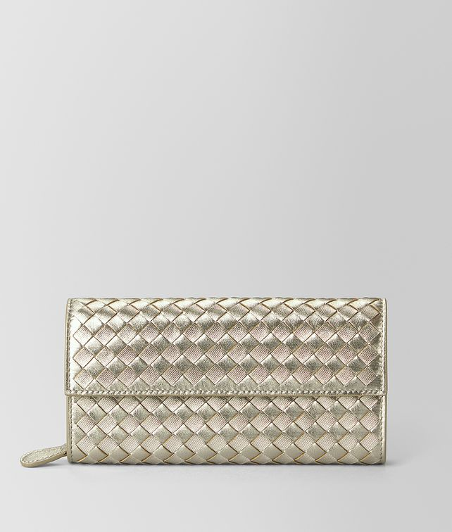 BOTTEGA VENETA CONTINENTAL WALLET IN INTRECCIATO GROSGRAIN Continental Wallet [*** pickupInStoreShipping_info ***] fp