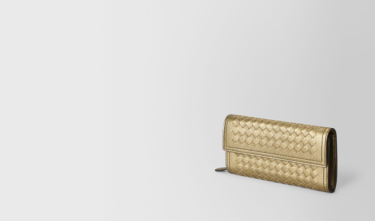 continental wallet in metallic calf  landing
