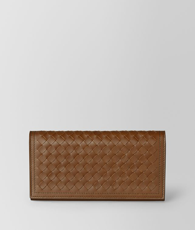 BOTTEGA VENETA CONTINENTAL IN INTRECCIATO VN Continental Wallet [*** pickupInStoreShippingNotGuaranteed_info ***] fp