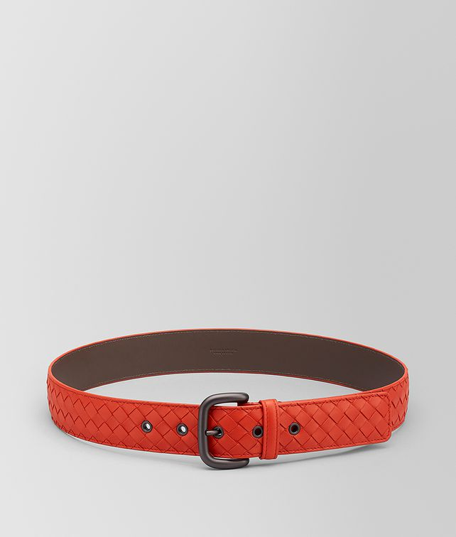 BOTTEGA VENETA BELT IN INTRECCIATO VN Belt Woman fp