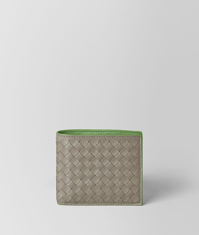 BOTTEGA VENETA BILLFOLD IN INTRECCIATO VN AND NAPPA Small Wallet Man fp
