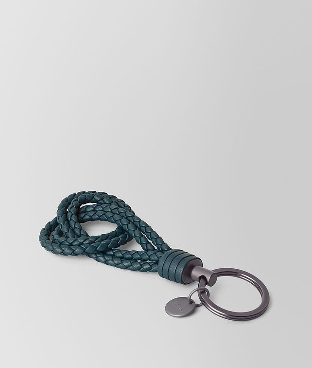 BOTTEGA VENETA KEY RING IN INTRECCIATO NAPPA Keyring or Bracelets E fp