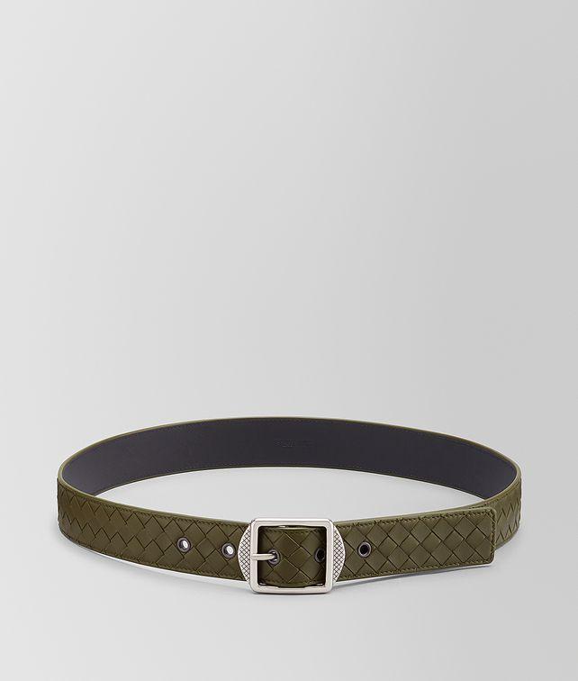 BOTTEGA VENETA BELT IN INTRECCIATO NAPPA Belt Man fp