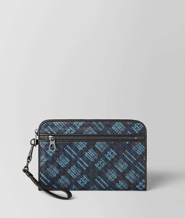 BOTTEGA VENETA URBANDOC IN TARTAN DOTS Document case [*** pickupInStoreShippingNotGuaranteed_info ***] fp
