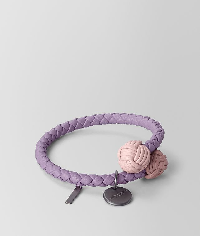 BOTTEGA VENETA BRACELET IN INTRECCIATO NAPPA MULTICOLOUR Other Accessories E fp