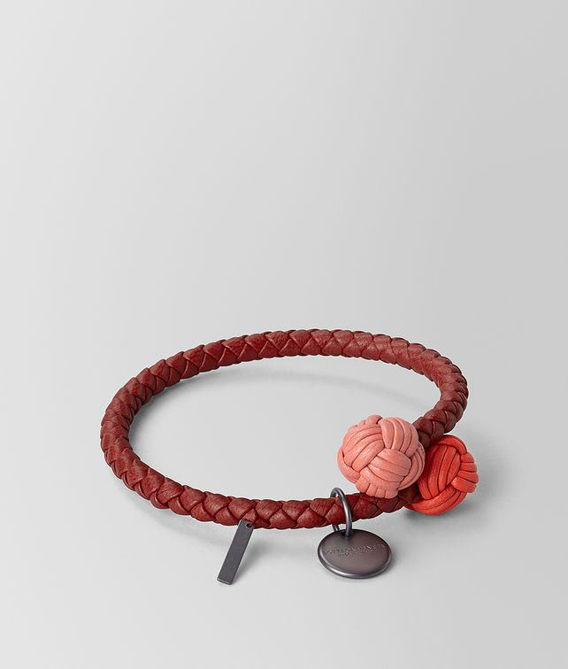 BOTTEGA VENETA BRACELET IN INTRECCIATO NAPPA MULTICOLOR Other Accessories E fp
