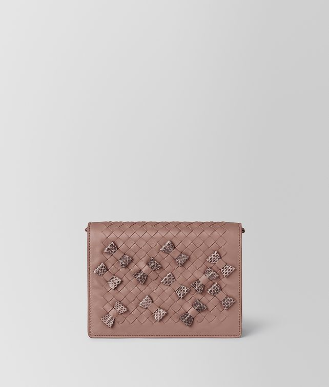 bf5e5a391d3ba BOTTEGA VENETA CHAIN WALLET IN INTRECCIATO NAPPA AND AYERS Mini Bag and  Pouche