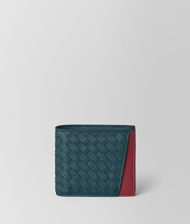BOTTEGA VENETA BILLFOLD IN NAPPA BICOLOR Small Wallet [*** pickupInStoreShippingNotGuaranteed_info ***] fp