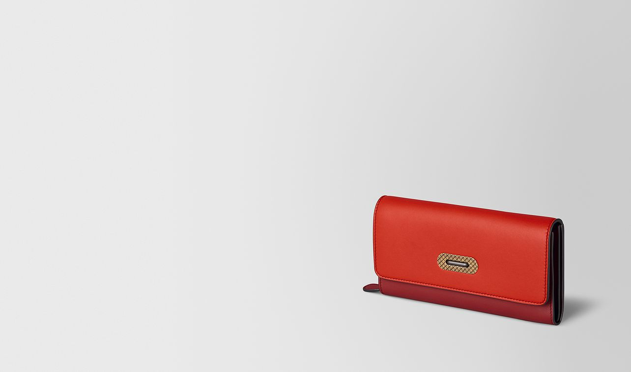 continental wallet in multicolor nappa  landing