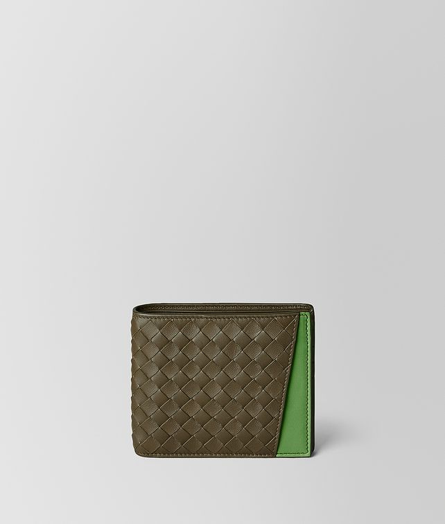 BOTTEGA VENETA BILLFOLD IN NAPPA BICOLOR Small Wallet Man fp