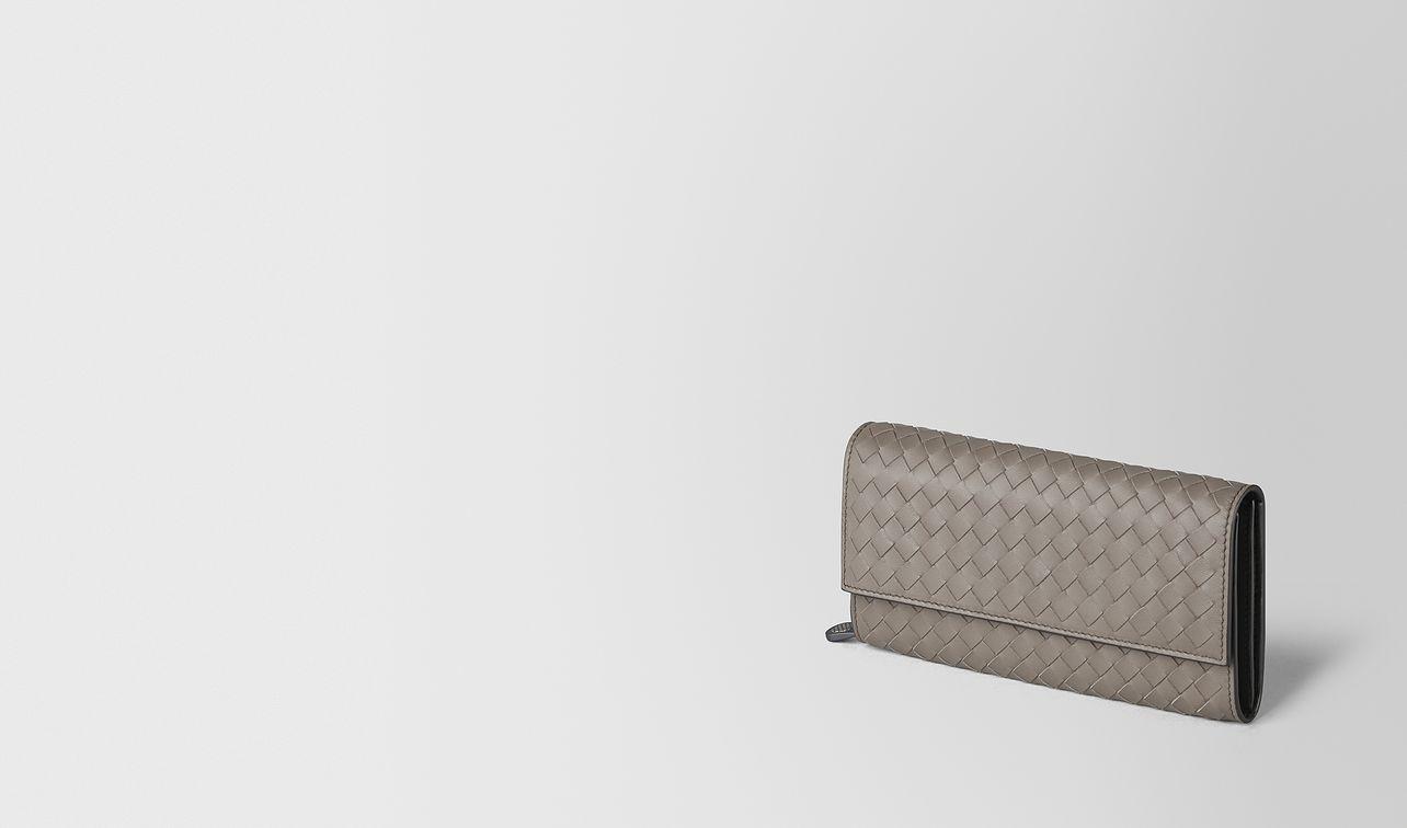 continental portemonnaie aus intrecciato nappa  landing