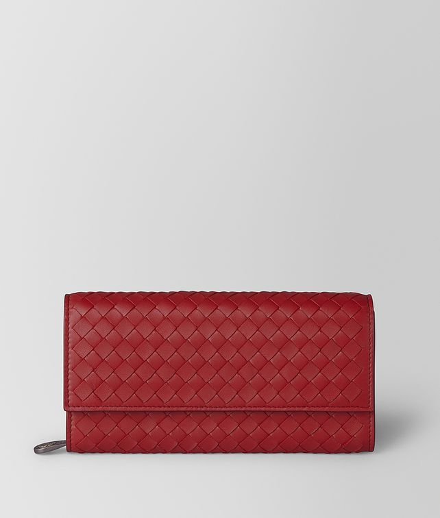 BOTTEGA VENETA CONTINENTAL WALLET IN INTRECCIATO NAPPA Large Wallet [*** pickupInStoreShipping_info ***] fp
