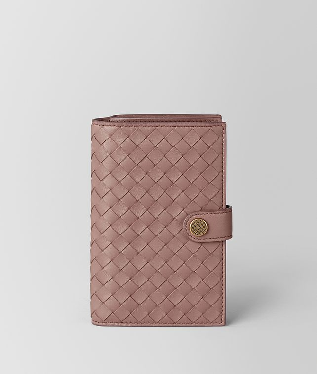 BOTTEGA VENETA FRENCH WALLET IN INTRECCIATO NAPPA  Continental Wallet [*** pickupInStoreShipping_info ***] fp