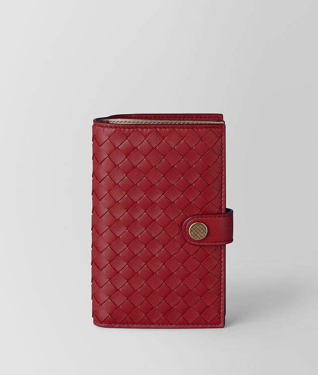 BOTTEGA VENETA FRENCH WALLET IN INTRECCIATO NAPPA Large Wallet [*** pickupInStoreShipping_info ***] fp