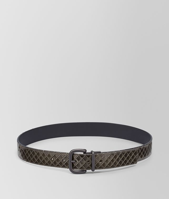 BOTTEGA VENETA REVERSIBLE BELT IN SCOLPITO BRUSH Belt [*** pickupInStoreShippingNotGuaranteed_info ***] fp