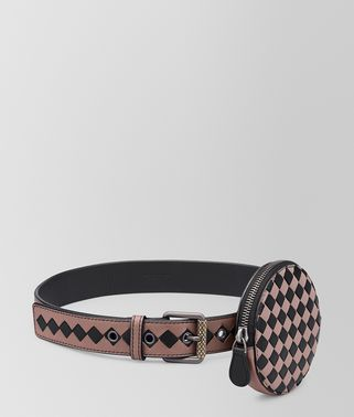 BELT IN INTRECCIATO CHECKER