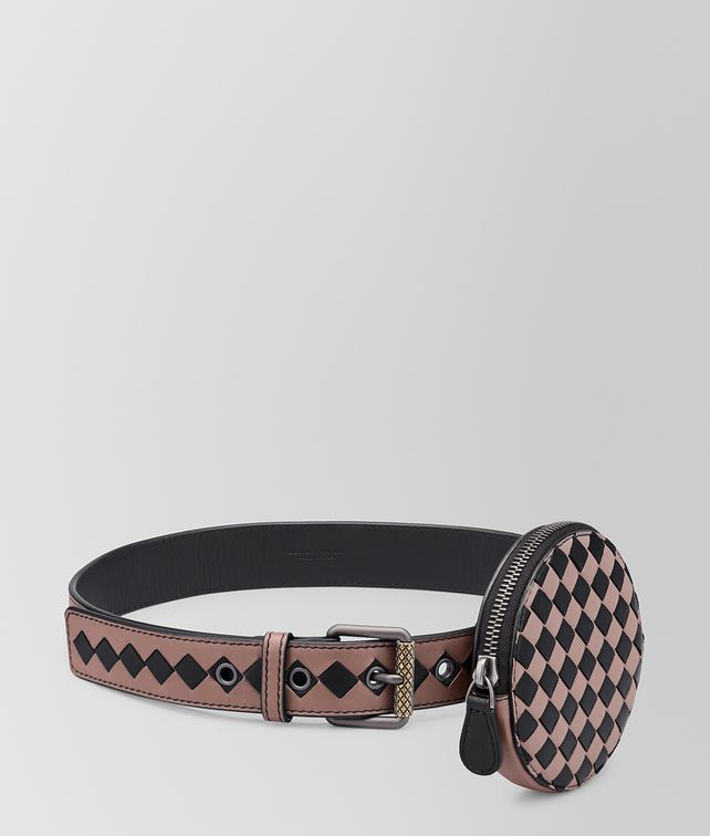 BOTTEGA VENETA BELT IN INTRECCIATO CHECKER Belt [*** pickupInStoreShipping_info ***] fp