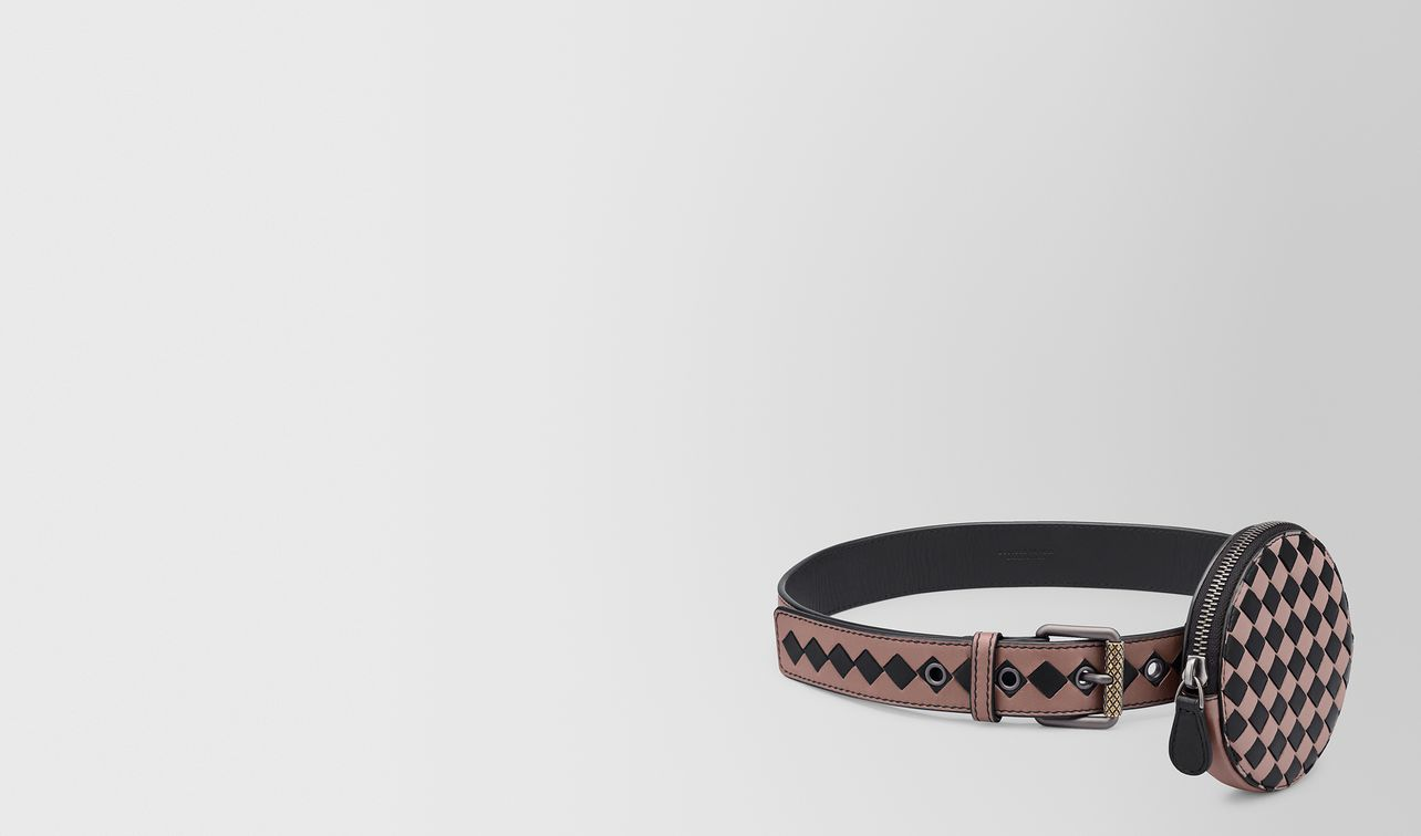 belt in intrecciato checker  landing