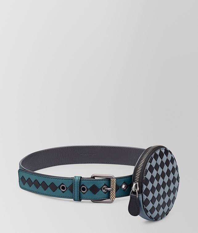 BOTTEGA VENETA BELT IN INTRECCIATO CHEQUER Belt [*** pickupInStoreShipping_info ***] fp