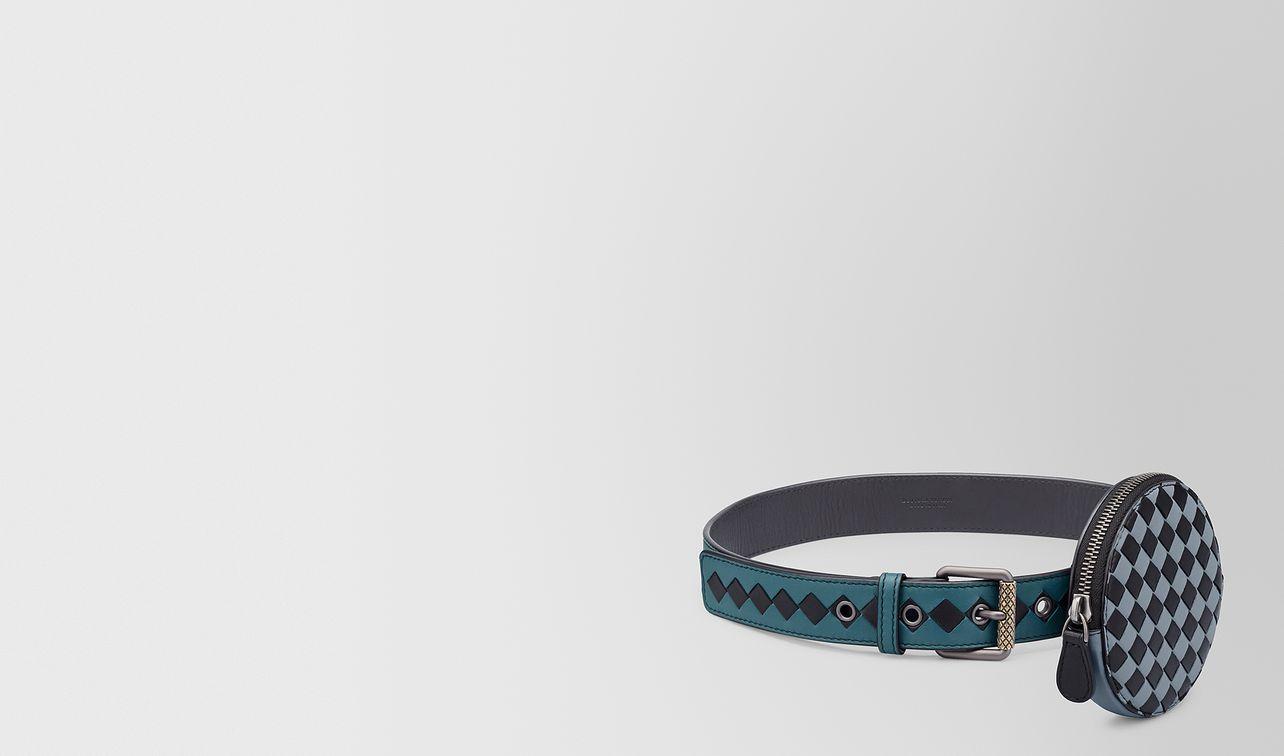 belt in intrecciato chequer  landing