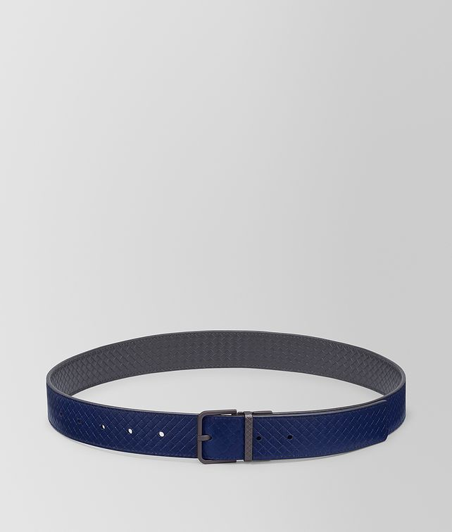 BOTTEGA VENETA REVERSIBLE BELT IN MICRO INTRECCIATO EMBOSSED Belt [*** pickupInStoreShippingNotGuaranteed_info ***] fp