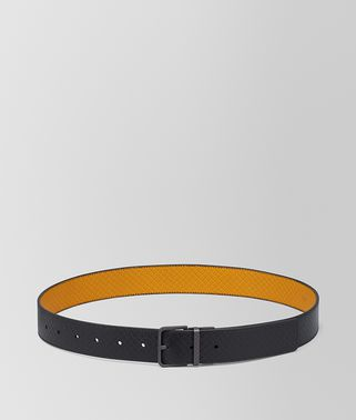REVERSIBLE BELT IN MICRO-INTRECCIATO EMBOSSED