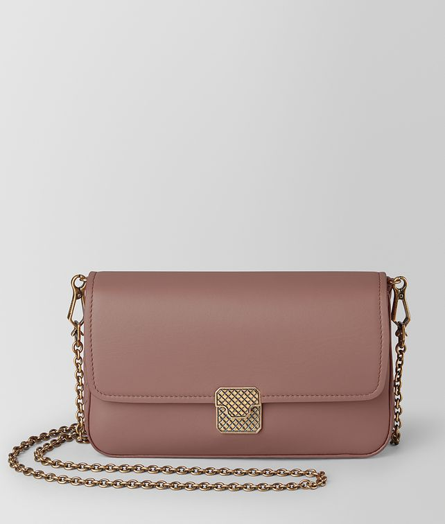 BOTTEGA VENETA CHAIN WALLET IN NAPPA Mini Bag and Pouche Woman fp
