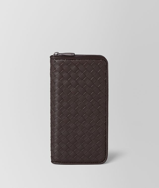 BOTTEGA VENETA ZIP AROUND WALLET IN INTRECCIATO NAPPA Zip Around Wallet [*** pickupInStoreShipping_info ***] fp
