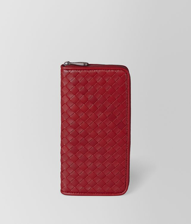 BOTTEGA VENETA ZIP AROUND WALLET IN INTRECCIATO NAPPA Large Wallet [*** pickupInStoreShipping_info ***] fp
