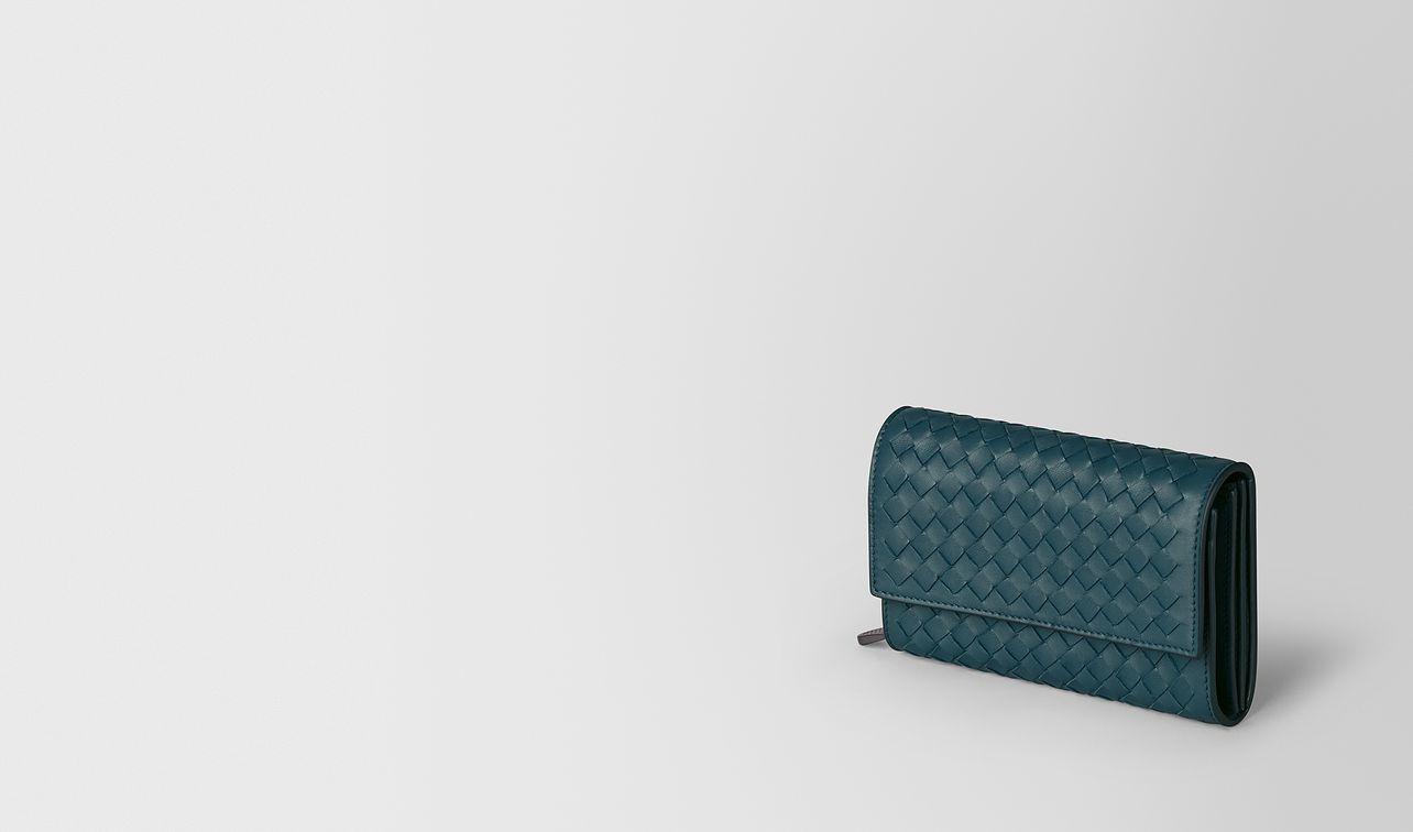 continental wallet in intrecciato nappa  landing