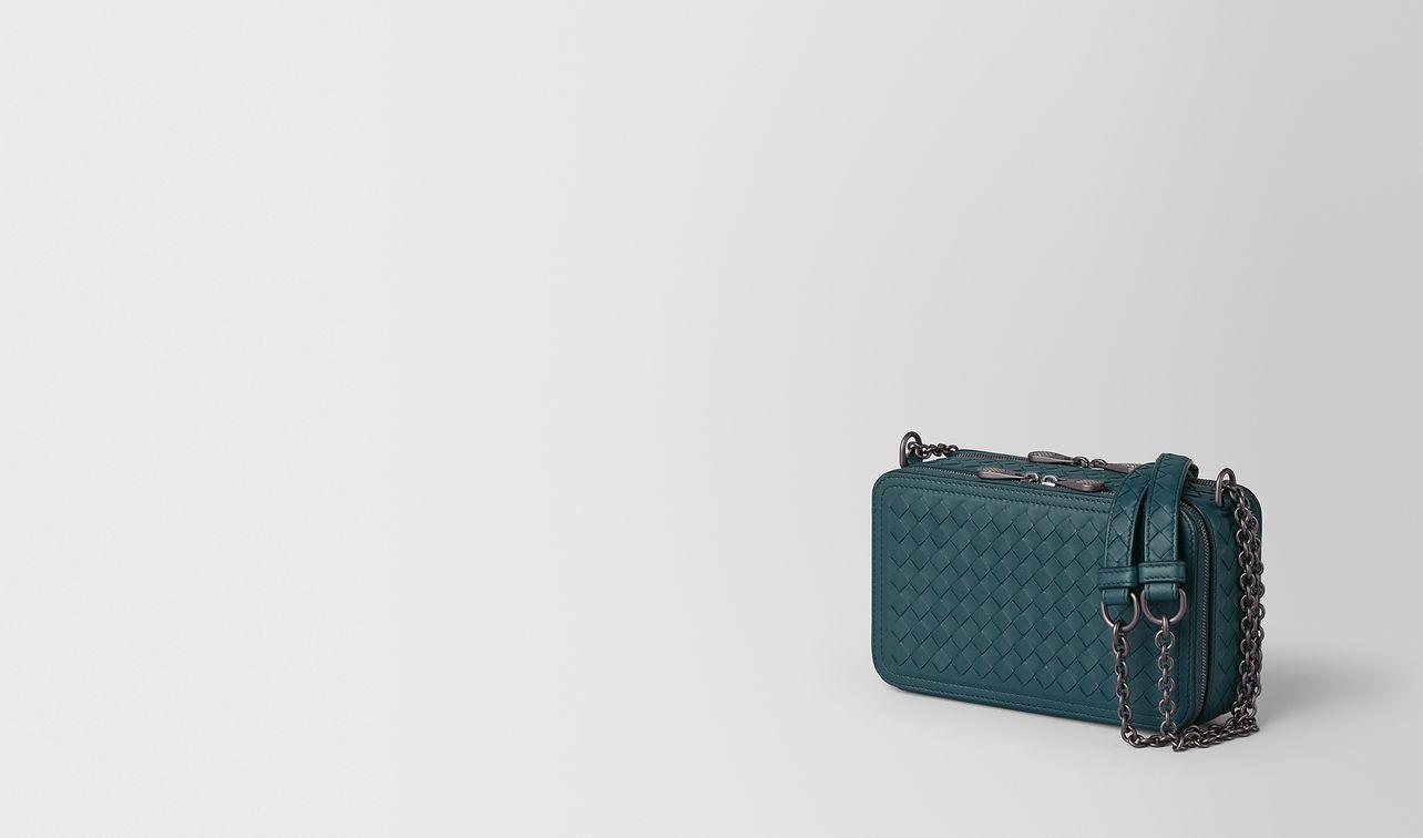 chain wallet in intrecciato nappa  landing