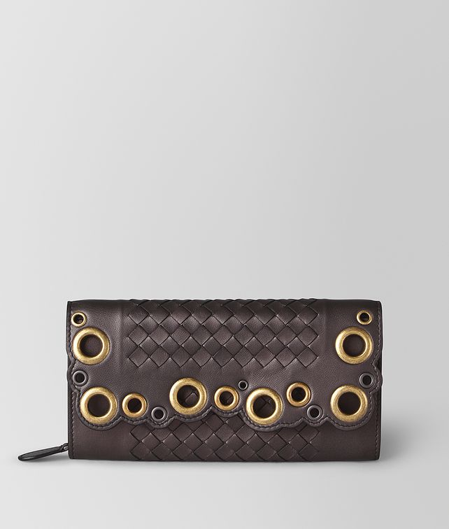 BOTTEGA VENETA CONTINENTAL WALLET IN INTRECCIATO LACE Continental Wallet [*** pickupInStoreShipping_info ***] fp