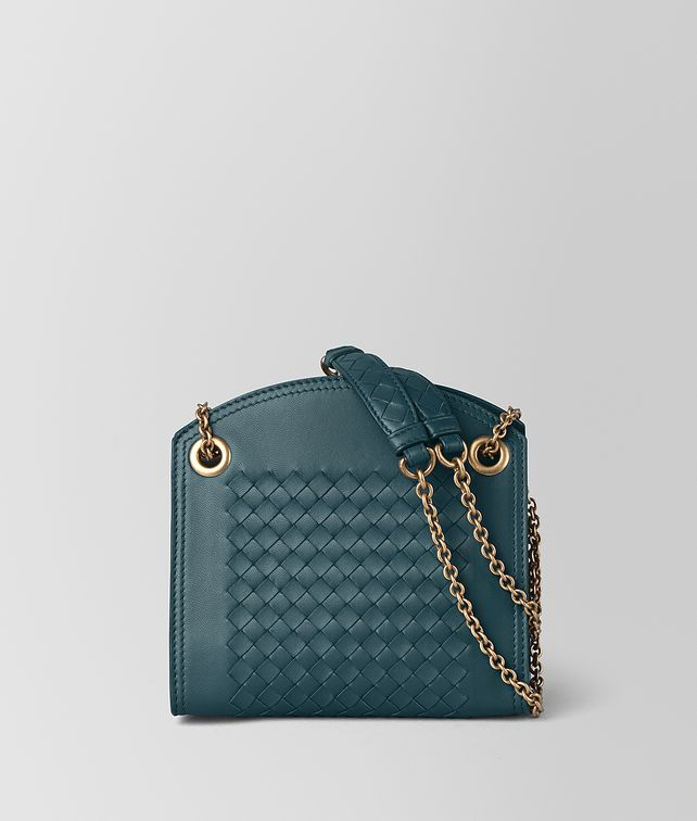 BOTTEGA VENETA CHAIN WALLET IN INTRECCIATO NAPPA Mini Bag and Pouche Woman fp