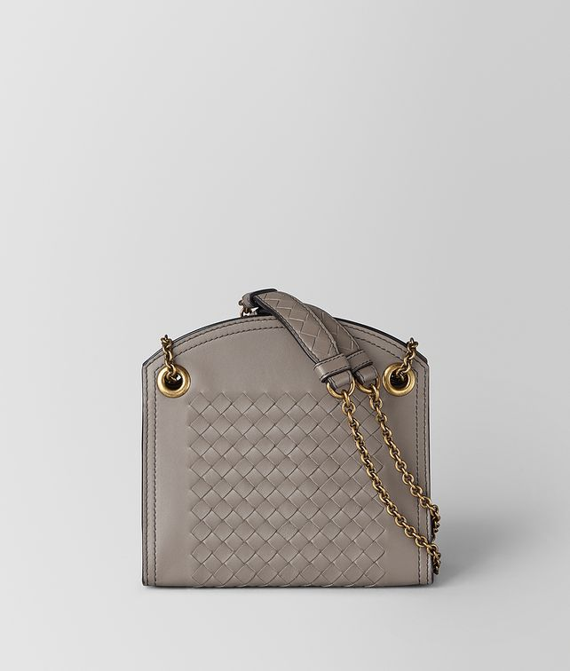 BOTTEGA VENETA CHAIN WALLET IN INTRECCIATO NAPPA Mini Bag and Pouche [*** pickupInStoreShipping_info ***] fp