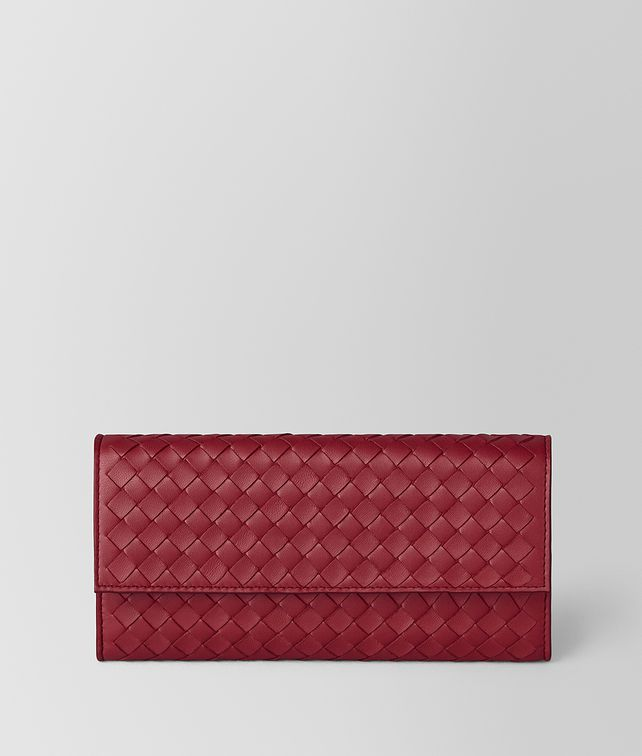 BOTTEGA VENETA CONTINENTAL WALLET IN INTRECCIATO NAPPA Large Wallet [*** pickupInStoreShippingNotGuaranteed_info ***] fp