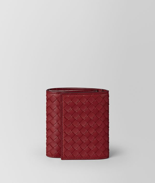 BOTTEGA VENETA CONTINENTAL WALLET IN INTRECCIATO NAPPA Small Wallet Woman fp