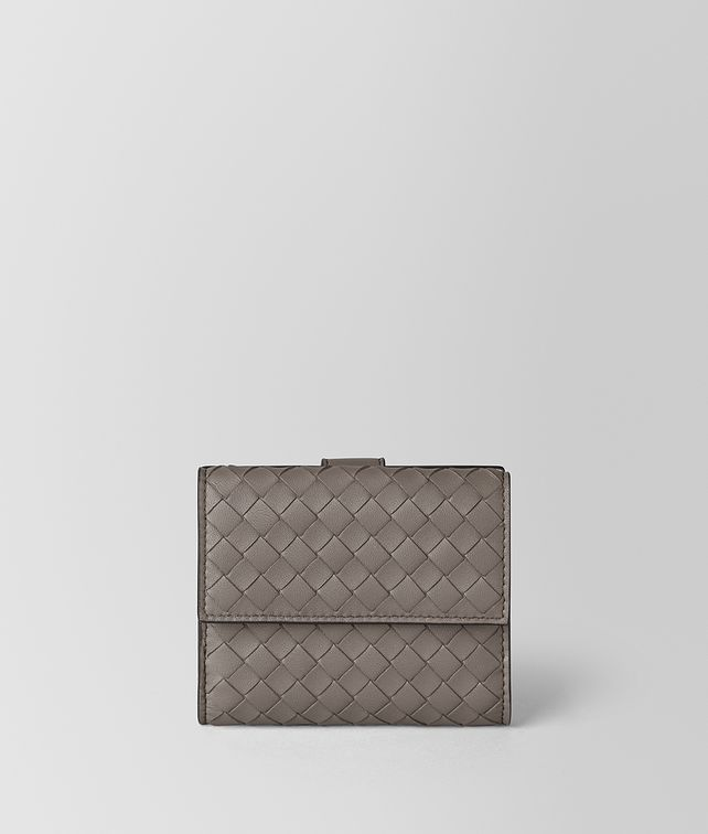 BOTTEGA VENETA FRENCH WALLET IN INTRECCIATO NAPPA Mini Wallet [*** pickupInStoreShipping_info ***] fp