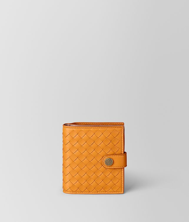 BOTTEGA VENETA FRENCH WALLET IN INTRECCIATO NAPPA Small Wallet [*** pickupInStoreShipping_info ***] fp