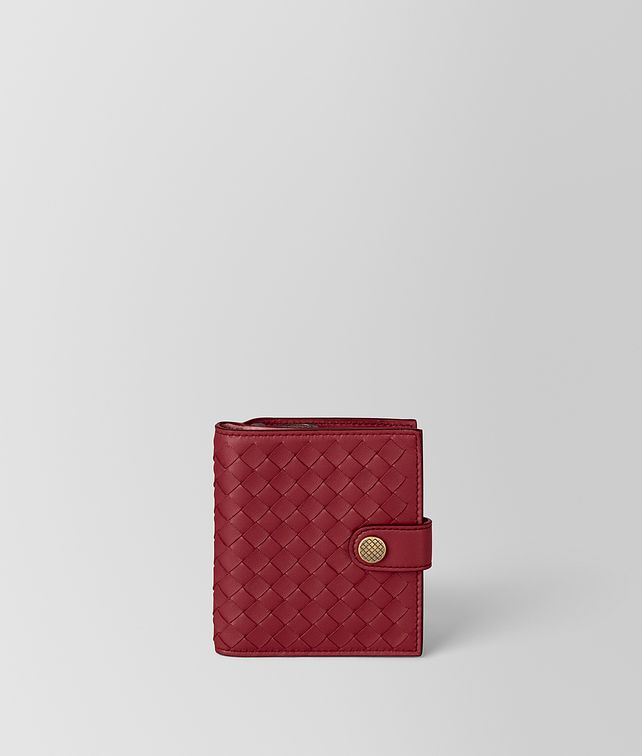 BOTTEGA VENETA FRENCH WALLET IN INTRECCIATO NAPPA Small Wallet [*** pickupInStoreShipping_info ***] fp