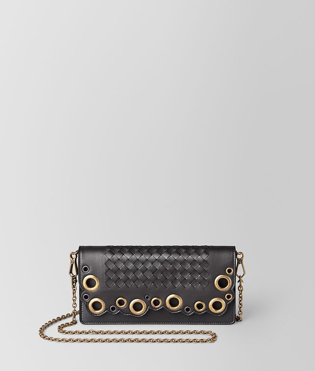 BOTTEGA VENETA CHAIN WALLET IN INTRECCIATO LACE CHAIN WALLET [*** pickupInStoreShipping_info ***] fp