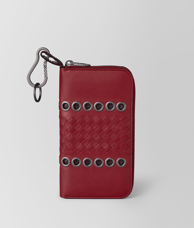 BOTTEGA VENETA ZIP AROUND IN VN EYELETS Large Wallet [*** pickupInStoreShippingNotGuaranteed_info ***] fp