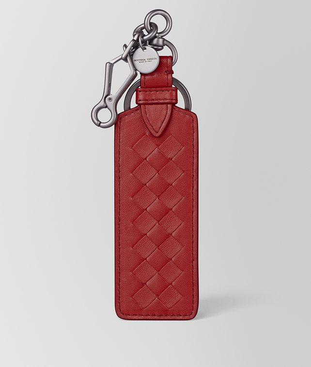 BOTTEGA VENETA KEY HOLDER IN INTRECCIATO NAPPA Keyring or Bracelets E fp