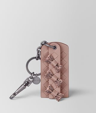 KEY HOLDER IN INTRECCIATO NAPPA AND AYERS