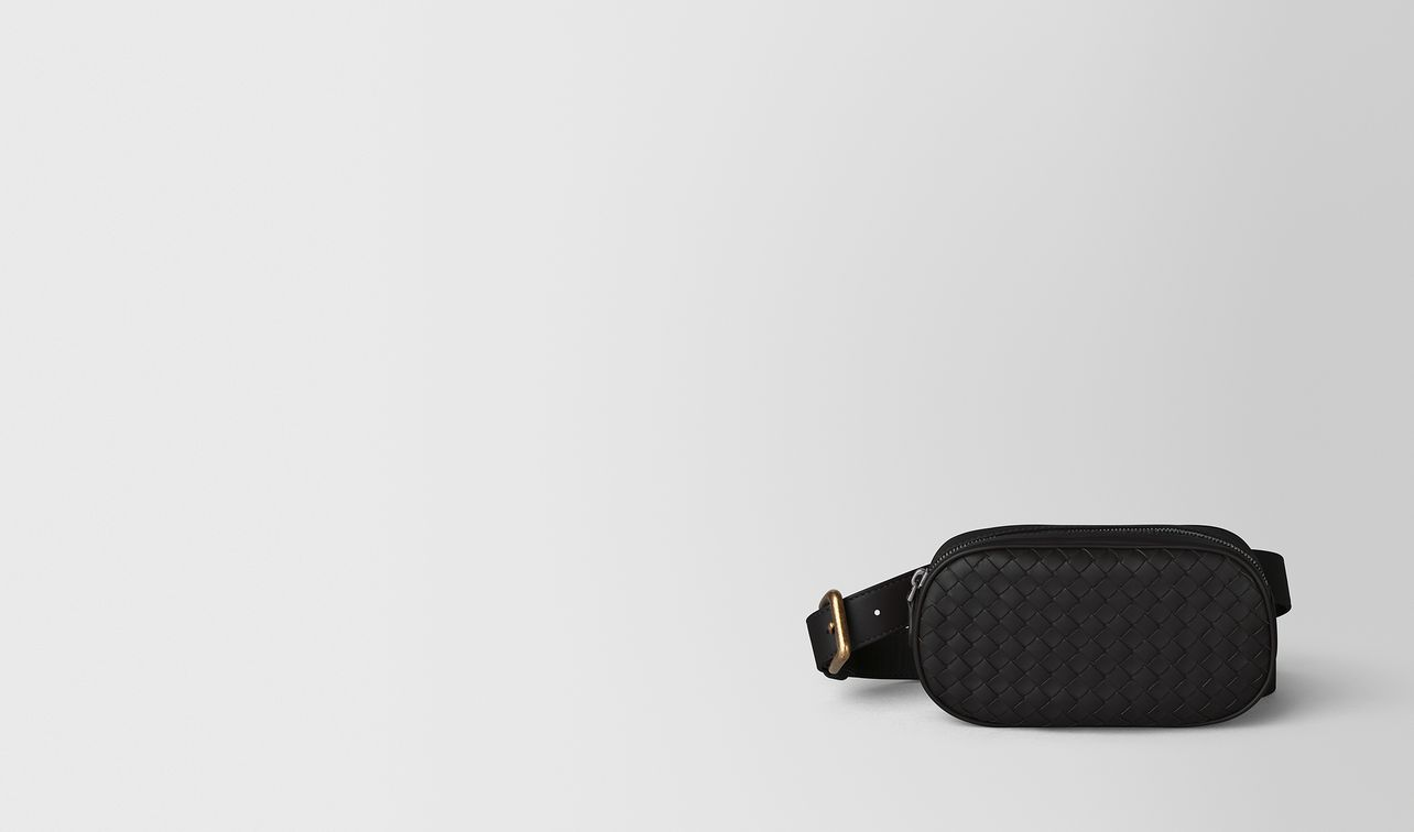 belt bag in intrecciato nappa  landing